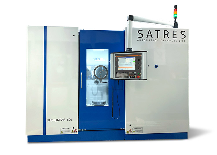 Machining Center • UHS Linear 500 - CNC Z32 DElectron