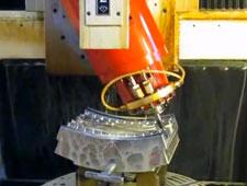 5 axes mould milling - Plus- D.Electron Z32 CNC