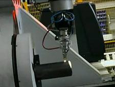 Laser tube cutting machine - Tebetech Machinery - D.Electron Z32 CNC