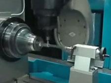 Turbine Blade Milling - Parpas group - D.Electron Z32 CNC